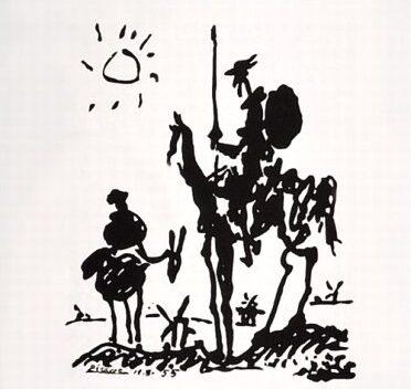 Don Quichotte hiker